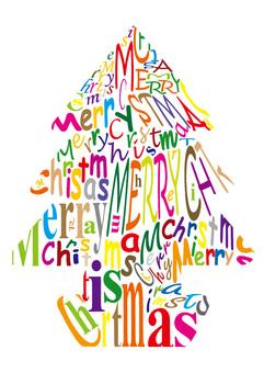 圣诞树衣领