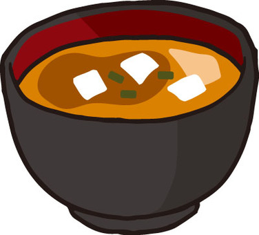 Rice (miso soup)