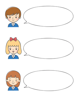 Speech bout girl