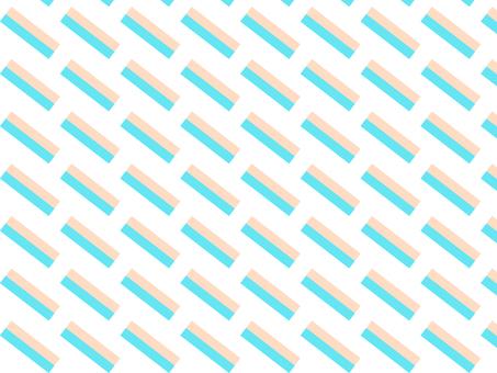 Diagonal blue stripe