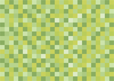 Wallpaper - Patchwork - Green