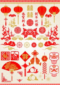 Spring Festival material 1
