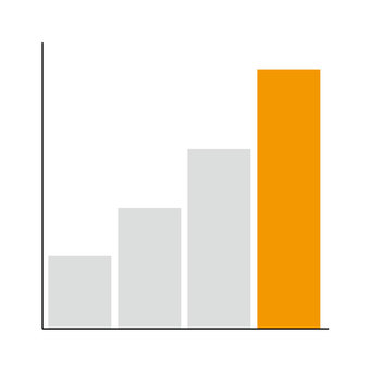 Bar graph (Orange)