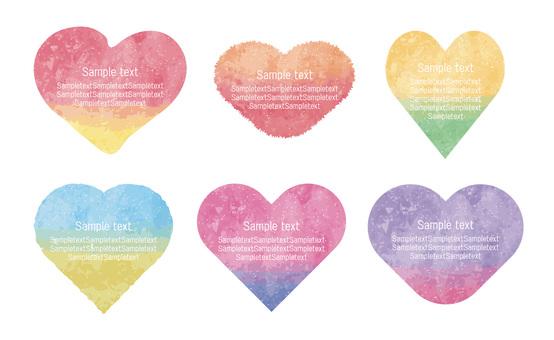 Heart's message card