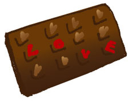 Valentine's Day LOVE Chocolate