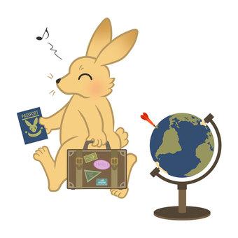Travel plan (globe)