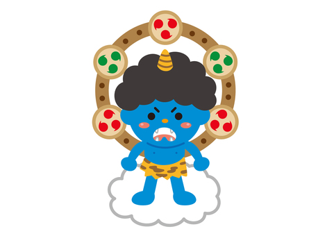 Setsubun Blue Demon