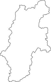 Nagano Prefecture_ line drawing
