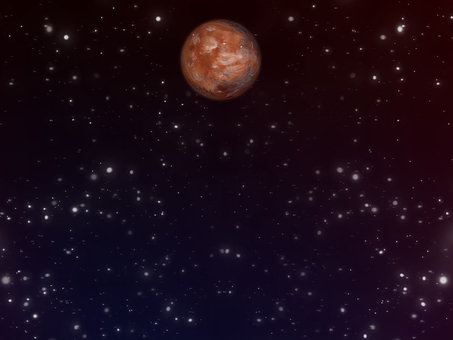 Universe wallpaper puzzling Mars ②