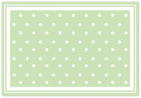Furen * Luncheon Mat Wind _ Green