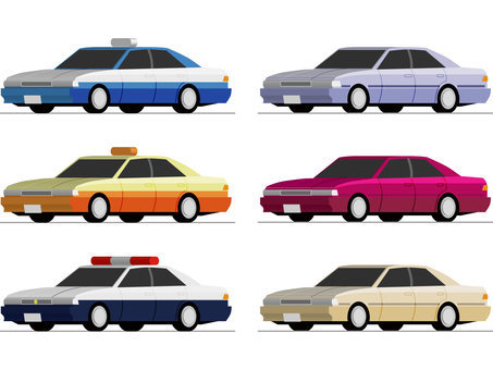 Automobile (passenger car set)