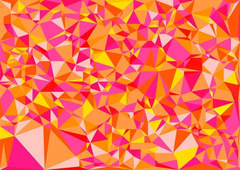 ピンク色のデジタルベクター背景素材