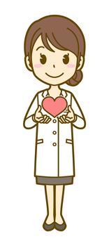 Female (doctor): A_ Heart 01 FS