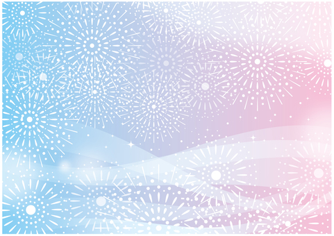 Fireworks Background Pink