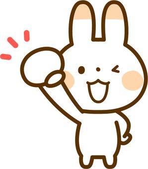 Rabbit of Guts pose