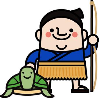 Uncle fairy Urashima Taro
