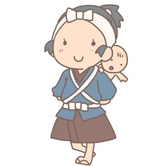 Edo-era lullaby