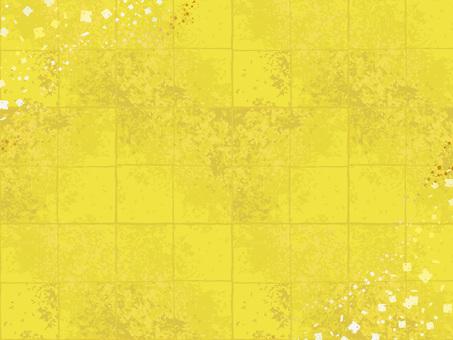 Japanese style golden gold foil pattern background 02