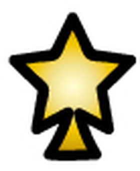 Overlapping tree (star 4)