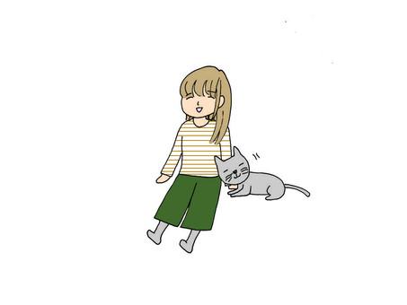 貓和女士們