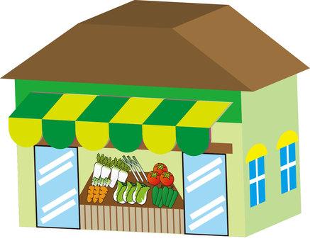 Map Material - Greengrocer