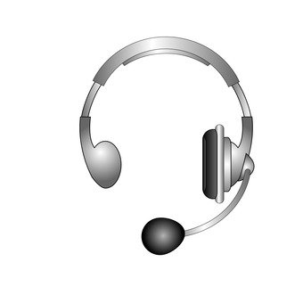 Headset (silver)