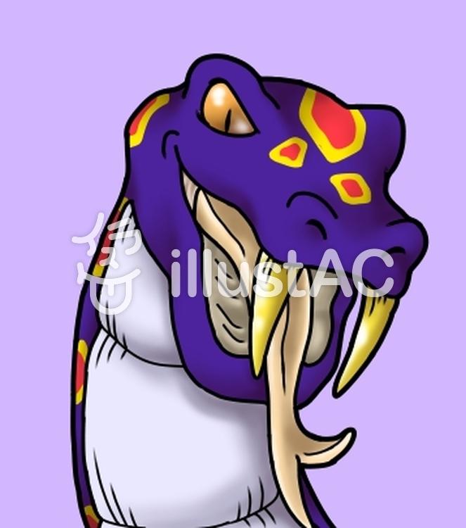 蛇イラスト , No 1419273/無料イラストなら「イラストAC」