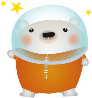 White astronaut 1