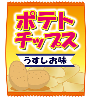 Potato Chips Uranus Salt