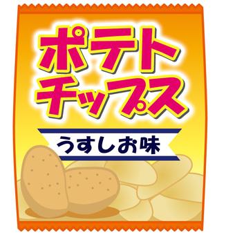 土豆片天王星鹽