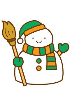Snowman 4c