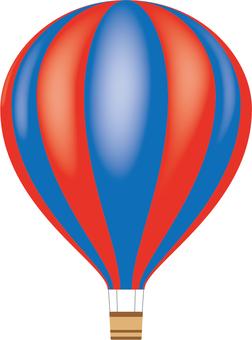 Object hot air balloon (gradation) 2