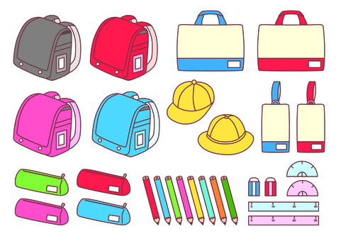 Elementary school equipment set _ 1