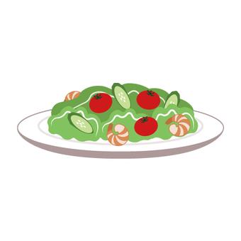 Vegetable salad (dish type)