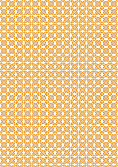 Orange Japanese pattern