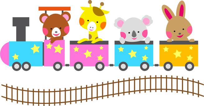 Dream zoo train