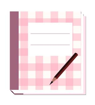 筆記本和鉛筆