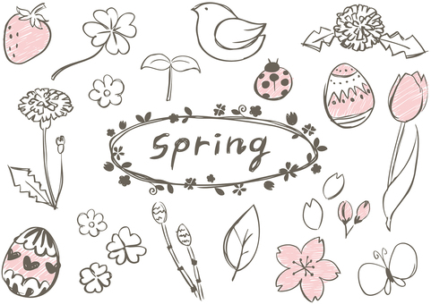 Sketch_ spring painting
