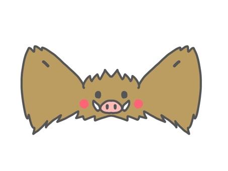 멧돼지의 머리 장식 (고양이)