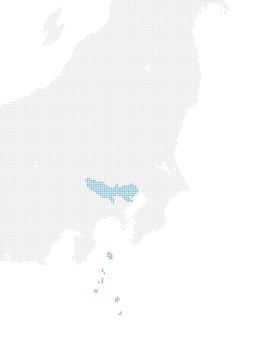Dot Map Tokyo 1