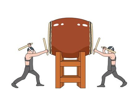 And Taiko drum (Taiko drum) 2
