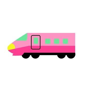 粉紅色的新幹線