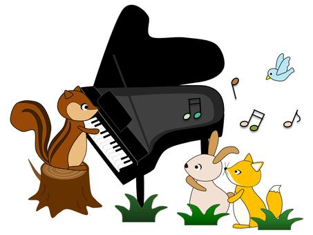 동물 _ 음악 _ 피아노