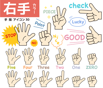 Finger icon 30