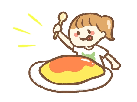 A woman who eats