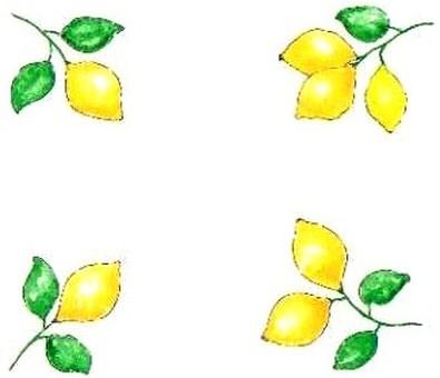 card : lemons
