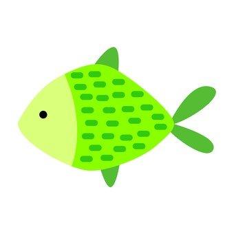 Green fish 14