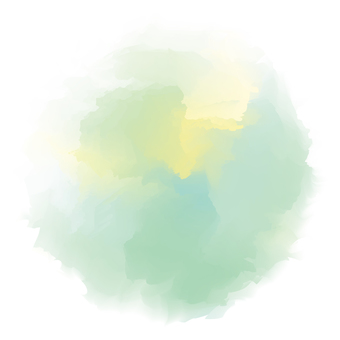 Blurred water color [round green]