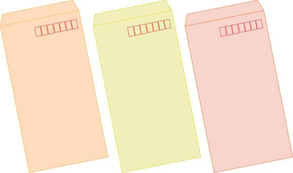 Envelopes (3 colors)