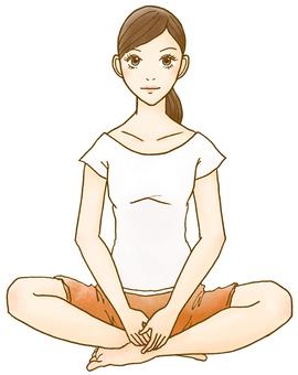 A woman who zen